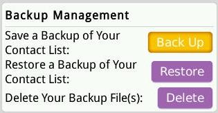 Cara Backup Kontak BBM