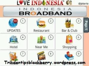 Aplikasi BlackBerry Love Indonesia