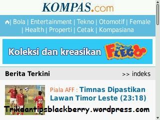Website Launcher Program Berita atau News