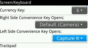 Foto Screen BlackBerry Dengan Aplikasi Capture It