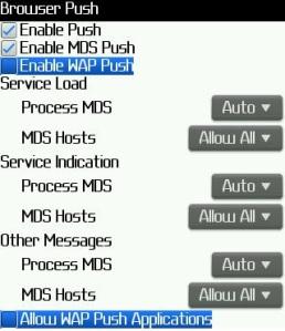 Cara Setting APN Access Point Name Pada BlackBerry