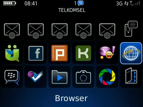 dan tips blackberry biasanya icon notifikasi blackberry messenger bbm